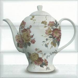 Composicion Tea 03 white 30x30